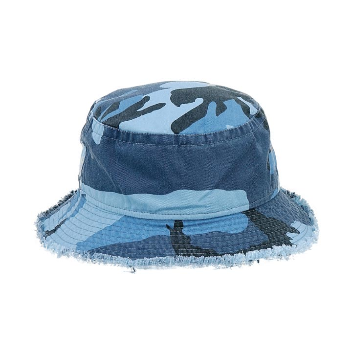 Bucket Frayed Hat