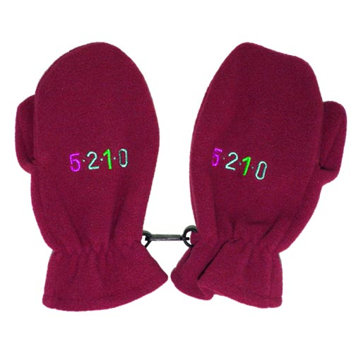 Fleece Baby Hats and Gloves