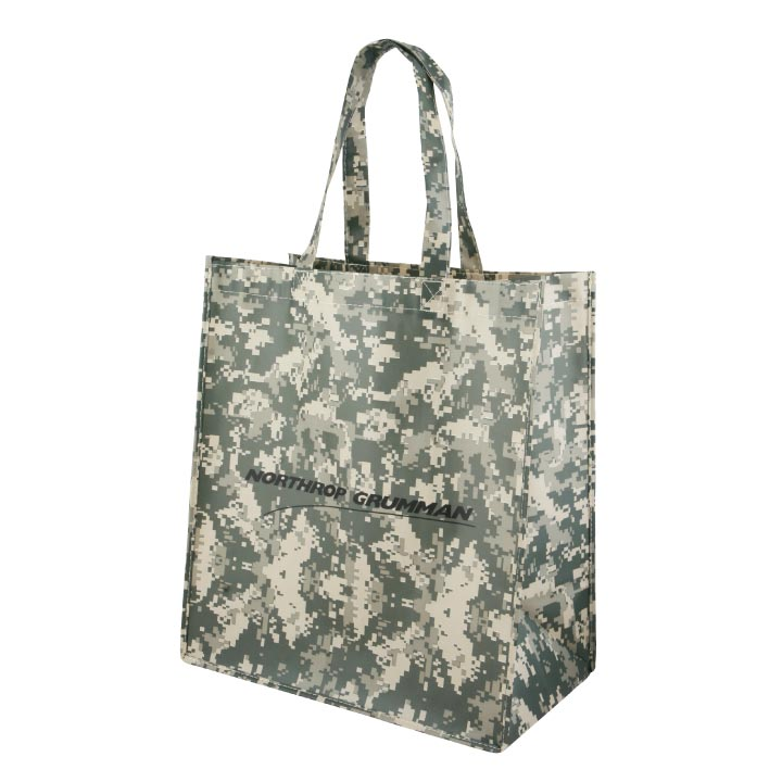 Camouflage Laminated Non-Woven Bag