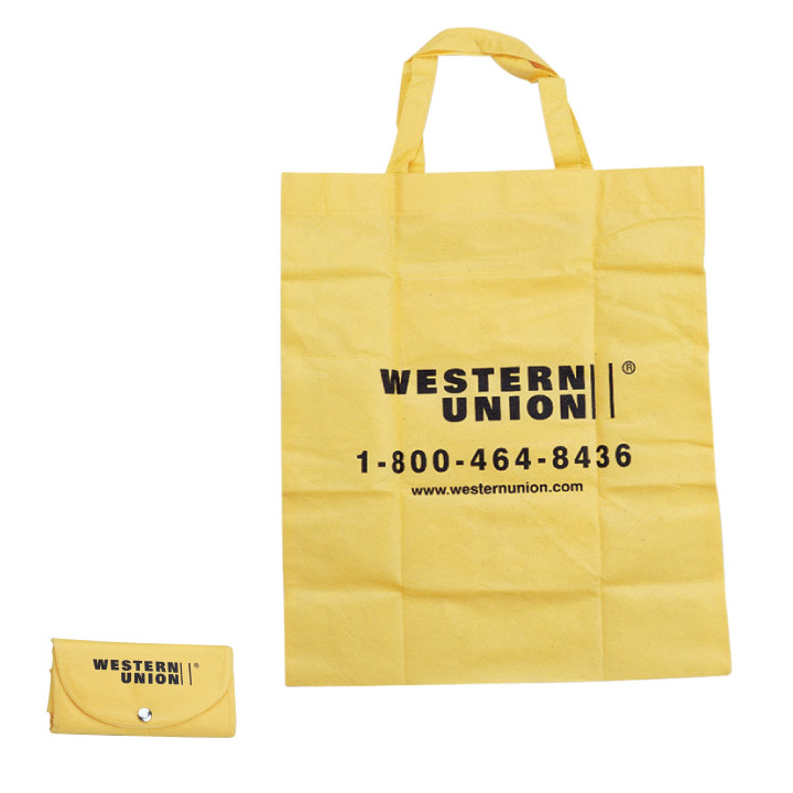 Non Woven Fold-Up Tote Bag