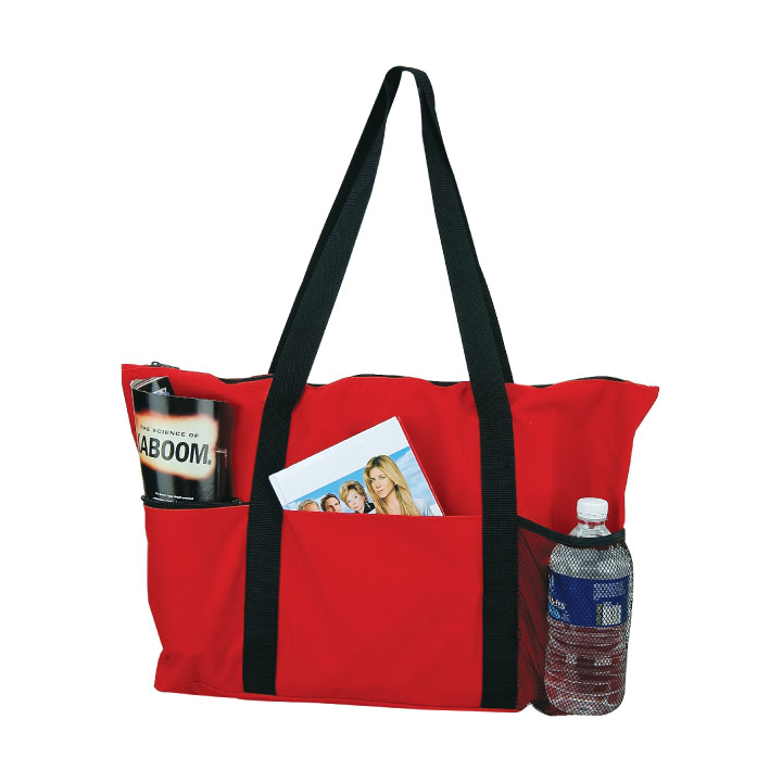 PVC Zipper Travel Tote Bag